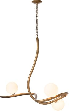 Hubbardton Forge 139201 Slide Mini Chandelier Light