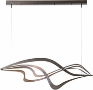 Hubbardton Forge 139905 Crossing Waves LED Island Light Fixture