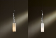 Hubbardton Forge 161080 Brindille Vintage Platinum Finish 3  Wide Mini Pendant Lighting Fixture
