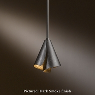 Hubbardton Forge 18-450 Mobius Wrought Iron Halogen Miniature Pendant Lighting With Adjustable Stem