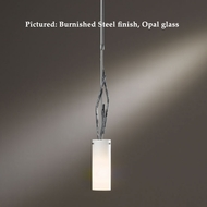 Hubbardton Forge 18-667 Brindille 21 Inch Tall Cylinder Pendant Lighting With Glass Options