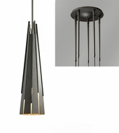 Hubbardton Forge 18510-QUINTUPLE Finn Quintuple Multi Hanging Lamp