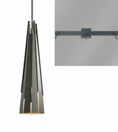 Hubbardton Forge 18510-TRIPLE-LINEAR Finn Triple Linear Multi Pendant Lamp