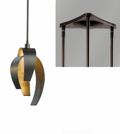 Hubbardton Forge 18653-TRIPLE-TRIANGLE Corona Triple Triangle Multi Pendant Light Fixture
