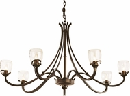 Hubbardton Forge 19434706 Aubrey Lighting Chandelier