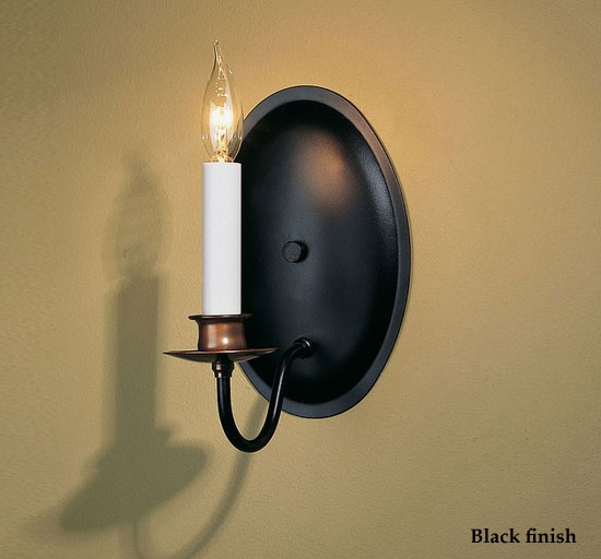 Hubbardton Forge 20 4210 Traditional Candle Oval Backplate