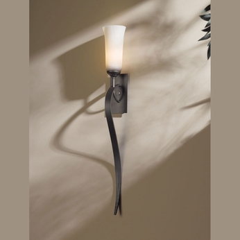Hubbardton Forge 20-4529 Sweeping Taper Transitional 28 Inch Tall Wall Lighting Fixture