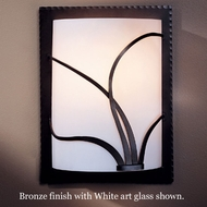 Hubbardton Forge 20-5750r Forged Reeds White Wall Sconce, Right