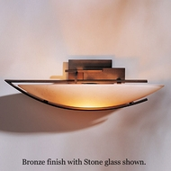 Hubbardton Forge 20-7380l Oval Ondrion Wall Sconce, Left