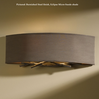Hubbardton Forge 20-7660 Brindille Wrought Iron 16 Inch Wide Wall Light Fixture