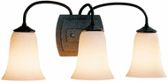Hubbardton Forge 208023 Simple Lines 3-Light Glass Bell Wall Sconce