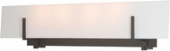 Hubbardton Forge 202153-SKT-09 Radiance Matte Black Bathroom Light Fixture