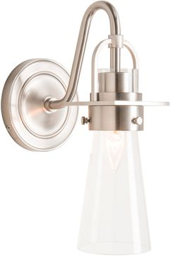 Hubbardton Forge 202161-SKT-22-ZM0613 Castleton Brushed Nickel Wall Sconce