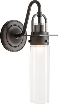 Hubbardton Forge 202162-SKT-09-ZM0614 Castleton Matte Black Wall Lighting