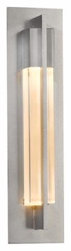 Hubbardton Forge 206425 Axis Vintage Platinum Medium 19 Inch Tall Wall Sconce Lighting