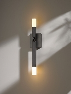 Hubbardton Forge 207430D Helix 4.5  Wide LED Lighting Sconce