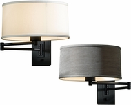 Hubbardton Forge 209250 Simple Wall Swing Arm Lamp