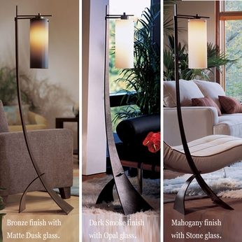 Hubbardton Forge 23-2665 Stasis Glass Floor Lamp