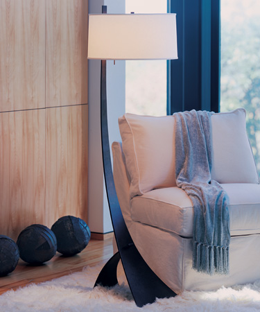 Hubbardton forge 23 2666 stasis shaded floor lamp hub 23 2666 hubbardton forge 23 2666 stasis shaded floor lamp loading zoom aloadofball Gallery