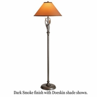 Hubbardton Forge 24-6761 Forged Leaves & Vase Floor Lamp