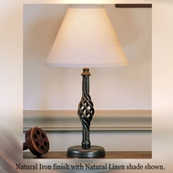 Hubbardton Forge 26-5101 Twist Basket Small Table Lamp