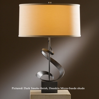 Hubbardton Forge 27-3030 Gallery Spiral 22 Inch Tall Lighting Table Lamp