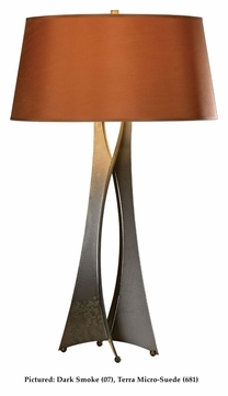 Hubbardton Forge 273077 Moreau 33 Inch Tall Table Lamp With Finish Options