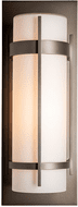 Hubbardton Forge 305894 Banded Outdoor Large Sconce