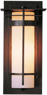 Hubbardton Forge 305992 Banded Outdoor Small Top Plate Sconce