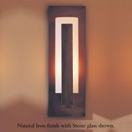 Hubbardton Forge 307285 Forged Vertical Bar Outdoor Small Sconce