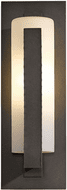 Hubbardton Forge 307286 Forged Vertical Bar Outdoor Medium Sconce