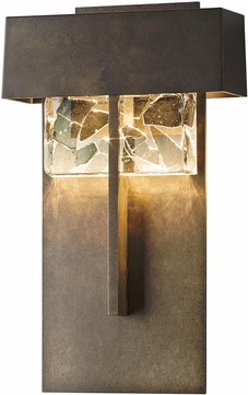 Hubbardton Forge 302517D Shard LED Exterior Wall Sconce