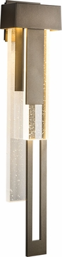 Hubbardton Forge 302533-LED-RGT Rainfall LED Exterior Wall Sconce Lighting