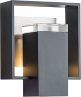 Hubbardton Forge 302601 Shadow Box Outdoor Small Wall Lighting Sconce