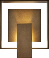 Hubbardton Forge 302603 Shadow Box Exterior Wall Sconce Lighting