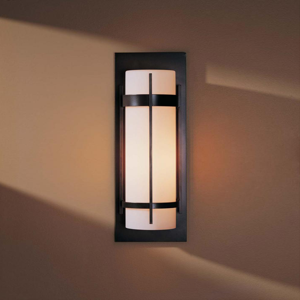 Hubbardton Forge 305894 Banded Led Outdoor Lighting Wall Sconce Loading Zoom