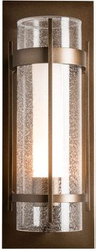 Hubbardton Forge 305898 Banded Exterior 8  Lighting Wall Sconce