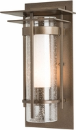 Hubbardton Forge 305996 Banded Outdoor 12.5  Wall Light Sconce