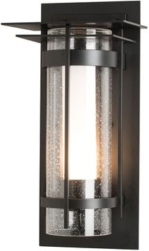 Hubbardton Forge 305997 Banded Outdoor 8  Wall Lighting Sconce