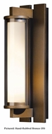 Hubbardton Forge 306453 Fuse Medium 17 Inch Tall Outdoor Lighting Sconce