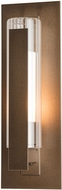 Hubbardton Forge 307281 Vertical Bar Outdoor 15  Wall Sconce