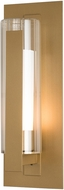 Hubbardton Forge 307282 Vertical Bar Exterior 19  Wall Lamp