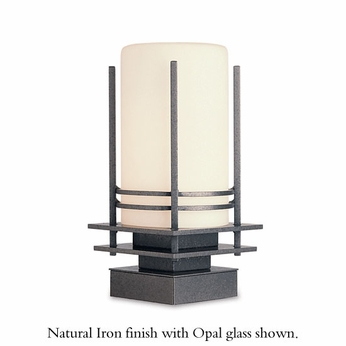 Hubbardton Forge 335796 Double Banded Outdoor Pier Mount Light