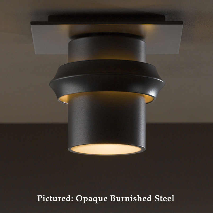 Hubbardton Forge 36 4901 Twilight Flush Mount Outdoor Ceiling Lighting Wrought Iron Hub 36 4901