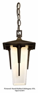 Hubbardton Forge 365705 Modern Prairie Small 7 Inch Diameter Outdoor Hanging Lamp