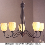 Hubbardton Forge 424687 Trellis 5-Light Glass Chandelier