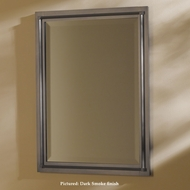 Hubbardton Forge HUB-71-4901 Rook Beveled Mirror 26 Inch Tall Wall Mounted Mirror