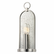 Hudson Valley 091-PN Lowell Retro Polished Nickel Finish 13.75  Tall Sconce Lighting