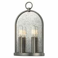 Hudson Valley 092-AN Lowell Retro Antique Nickel Finish 13.75  Tall Lighting Sconce