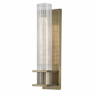 Hudson Valley 1001-AGB Sperry Contemporary Aged Brass Wall Sconce